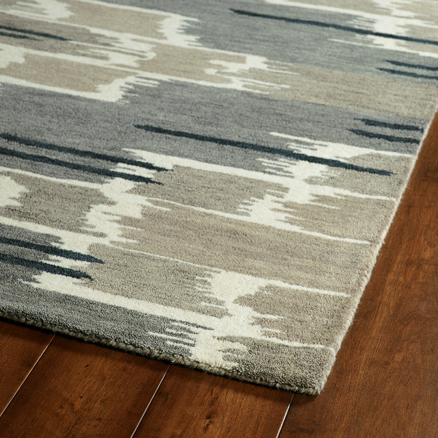 "Kaleen Global Inspirations Collection Rug, 5&x27;x7&x27;9""."