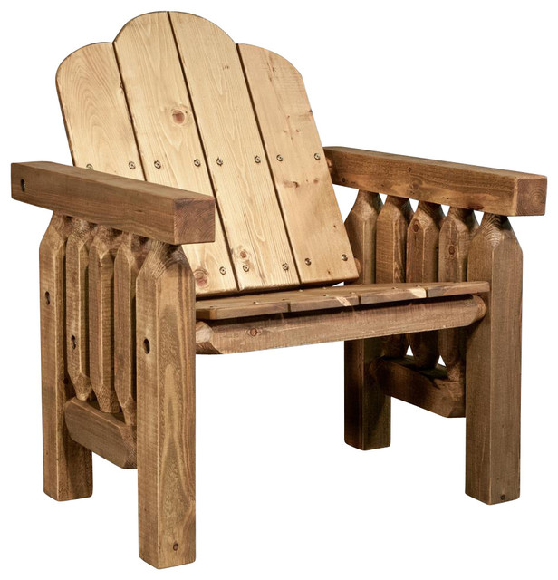 Deck Chair In Exterior Stain