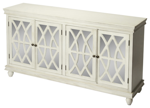 Butler Lansing Off White Sideboard Traditional Buffets And Sideboards