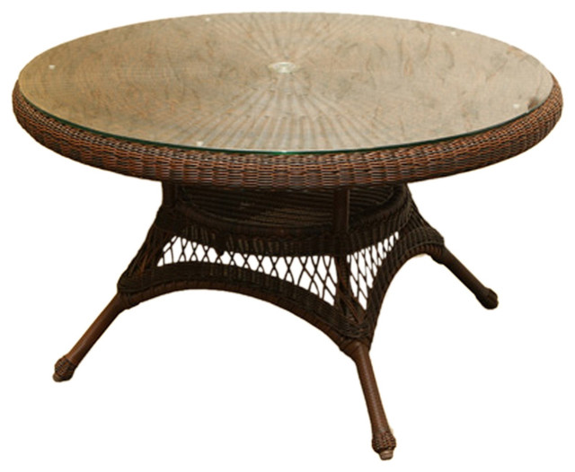 Tortuga Outdoor Lexington Conversation Table 42 Mojave Modern Outdoor Coffee Tables By