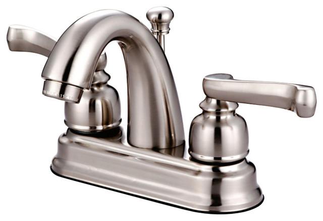 "Bathroom Vanity Sink 4/"" Centerset Lavatory Faucet Oil Rubbed Bronze"