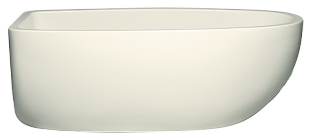 Contura Iii 6632 Tub Only Matte Finish, Airbath 2 With Integral Drain, Biscuit.