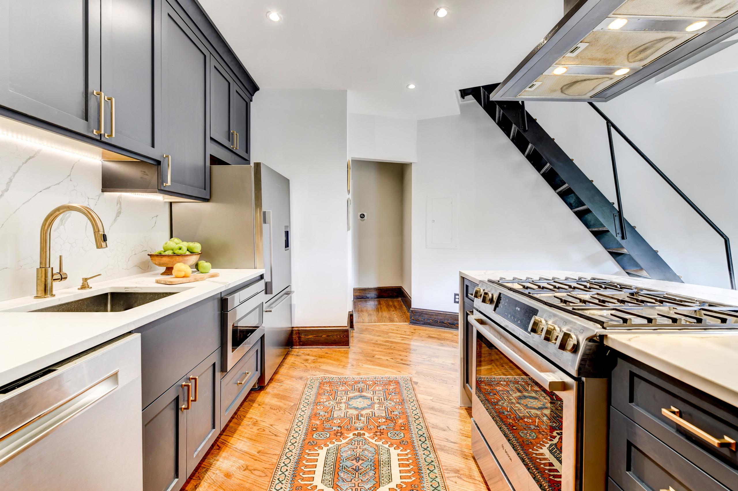 DC condo kitchen reno
