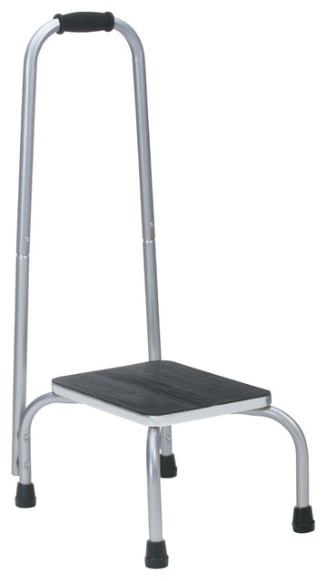 Aluminum Safety Step Stool With Handle Industrial