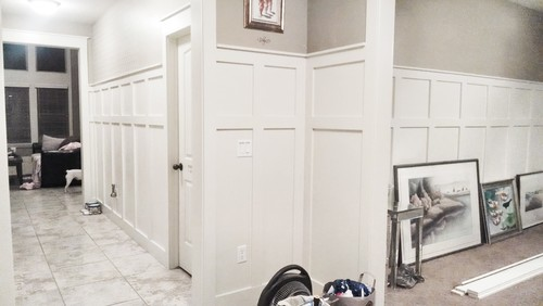 how to decorate with wainscot