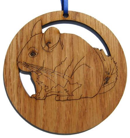 Chinchilla Ornament - Contemporary - Christmas Ornaments - by ...
