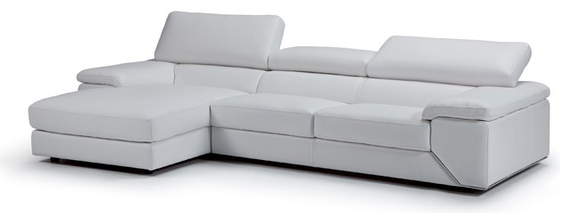 Sensational Contemporary Leather Italian Sectional Like Off White Left Chaise Andrewgaddart Wooden Chair Designs For Living Room Andrewgaddartcom