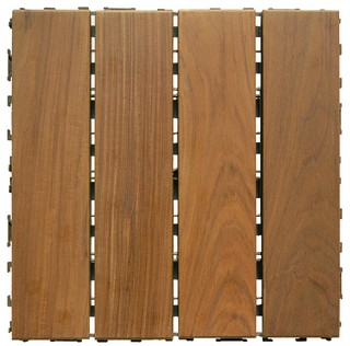 Ipe Wood Deck Tiles 12 X12 Contemporary And Planks By Architrex