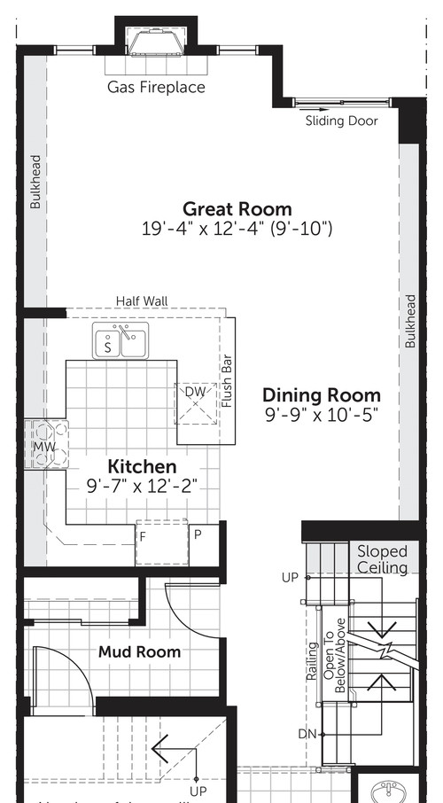 where to put the furniture floor plans