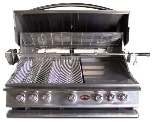 Cal-Flame P Series Built In 5 Burner Gas Grill.