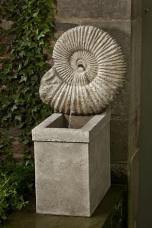 Ammonite Fountain