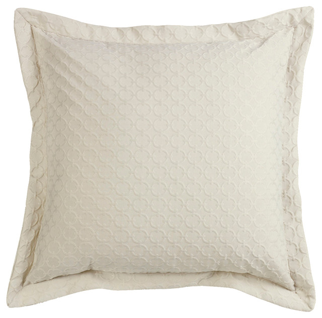 Hiend Accents Chain Link Euro Sham View In Your Room