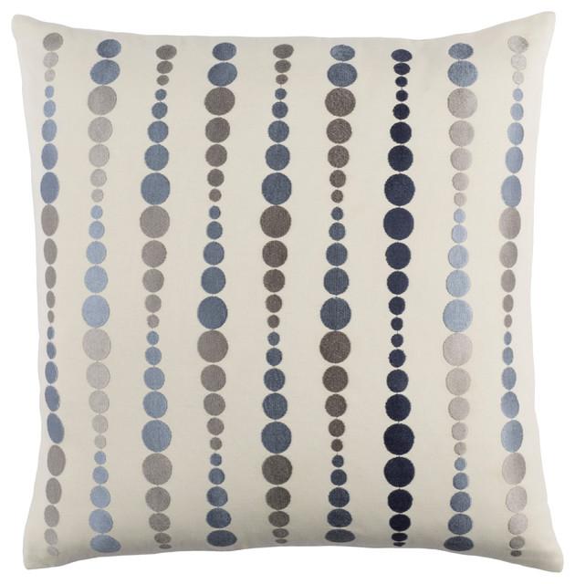 Dewdrop Pillow 22x22x5, Polyester Fill.