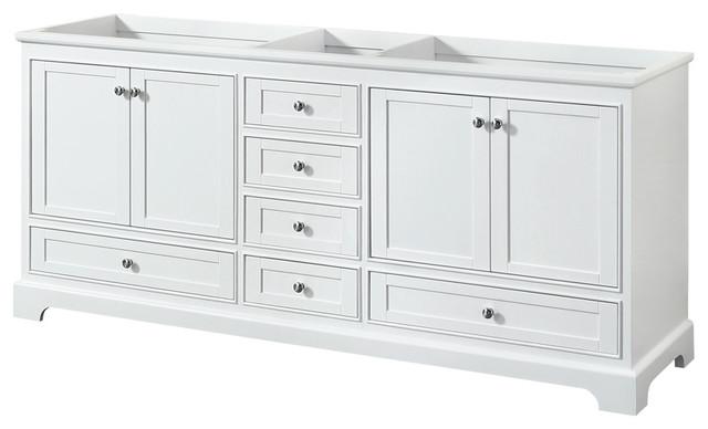 Wyndham Collection WCS202080DCXSXXMXX Deborah Double Vanity Cabinet Fixture
