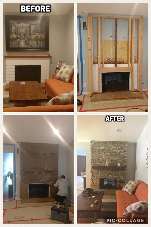 Fireplace Remodel San Diego