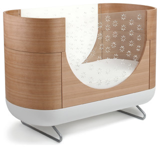 Pod 3 In 1 Convertible Crib With Toddler Bed Conversion Kit Contemporary Cribs By The Mdb
