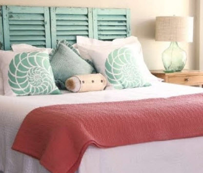 Interesting Headboard Ideas Beach Style Bedroom
