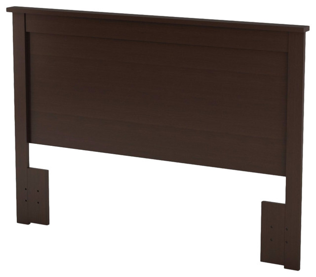 Full/queen Size Headboard, Chocolate Finish, Eco-Friendly.