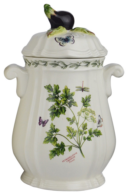 Herb De Provence Chives, Parsely Canister, Small.