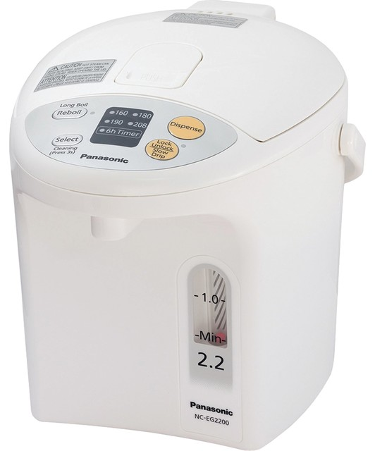 Panasonic 2.2 Liter Thermo Pot Modern Coffee And Tea Makers