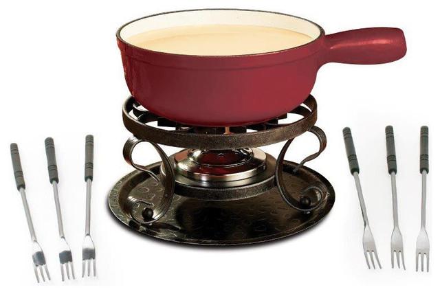 swissmar lugano fondue set reviews houzz. Black Bedroom Furniture Sets. Home Design Ideas