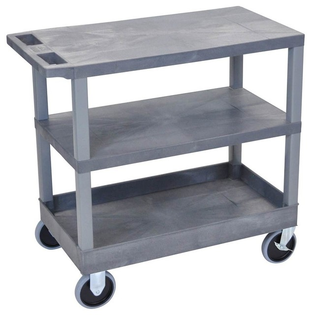 35 Portable Kitchen Cart Black Contemporary Kitchen Islands And Kitchen Carts By Shopladder
