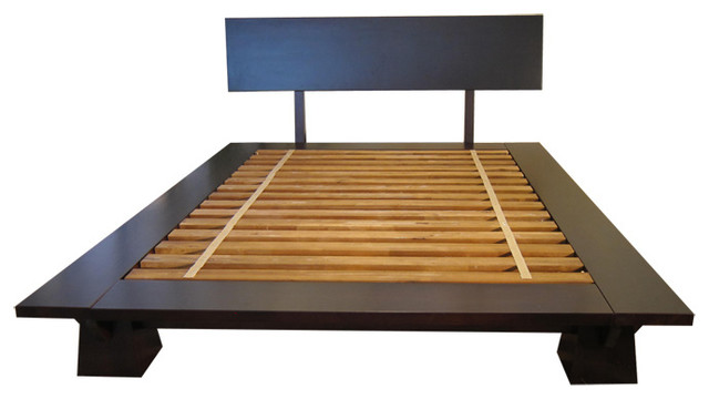 Takuma Platform Bed Asian Platform Beds by Haiku Designs
