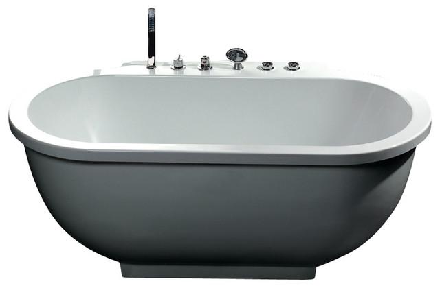Ariel Platinum Am128 Whirlpool Bathtub 71x37 4x27 5