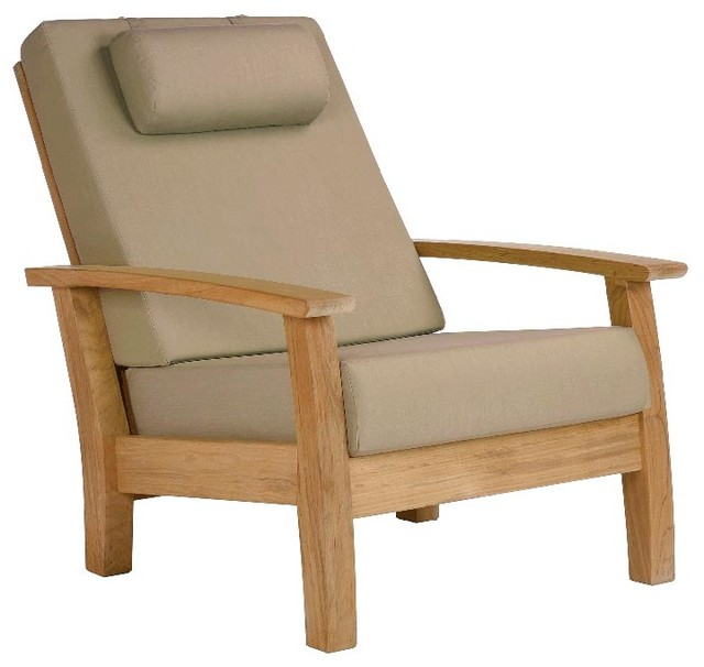 Perfect Barlow Tyrie   Haven Teak Armchair   Taupe Modern Outdoor Lounge Chairs
