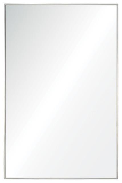 Renwil Crake Mirror, Stainless Steel