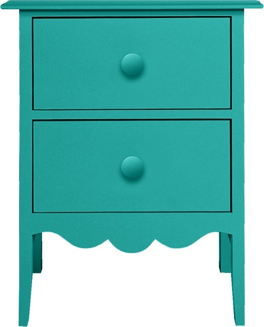 Nellie 2 Drawer Bedside Table Traditional Nightstands And Bedside Tables by Maine Cottage