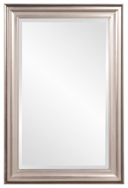Howard Elliott George Bright Nickel Mirror.
