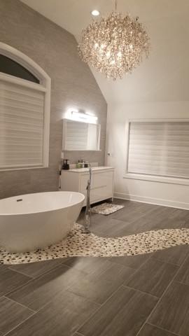 Bathroom Remodel Designed by Joseph EspositoBath