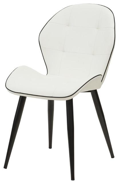 Sensational Astrid Pu Leather Chairs Set Of 2 Creativecarmelina Interior Chair Design Creativecarmelinacom