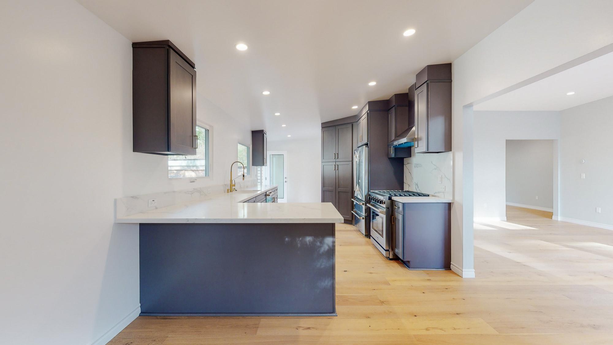 Full Interior Remodel Kitchen