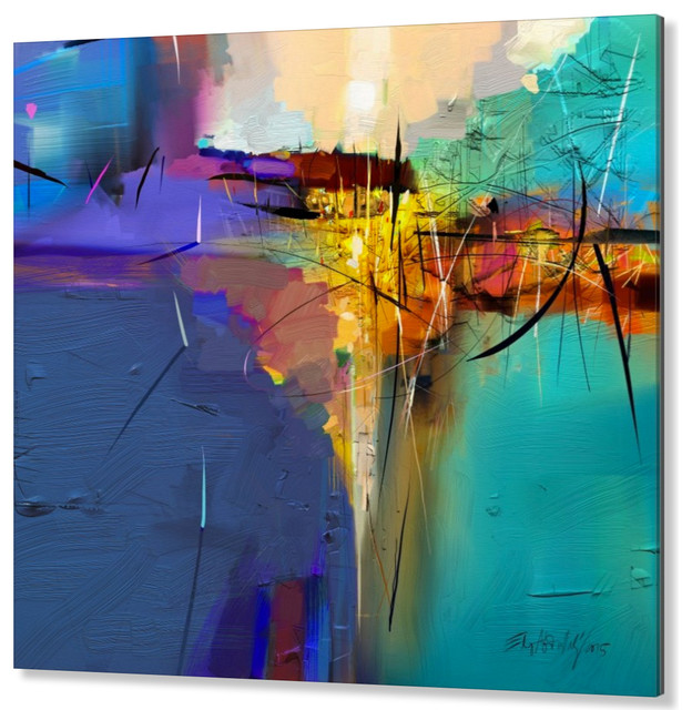 High End Facemount Acrylic Abstract Wall Art, Made in Canada and USA ...