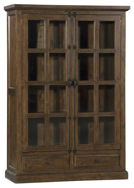 Double Door Cabinet, Oxford Finish.