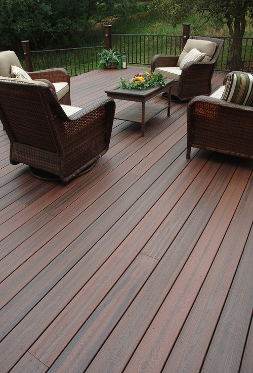 New Composite Decking Materials Look More Like Real Wood