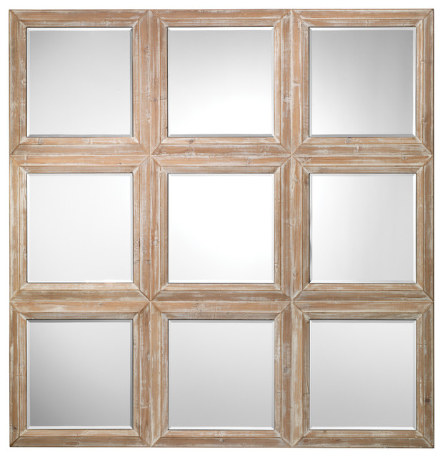 Yvonne Mirror Farmhouse Wall Mirrors By Jamie Young Company