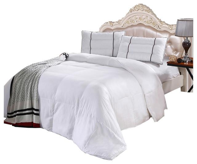 100 Bamboo Down Alternative Comforter Contemporary