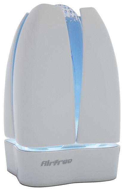Airfree Lotus Filterless Air Purifier.