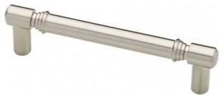 "Liberty Hardware Pull 3-3/4"" C/C Heirloom Silver P23028 ..."
