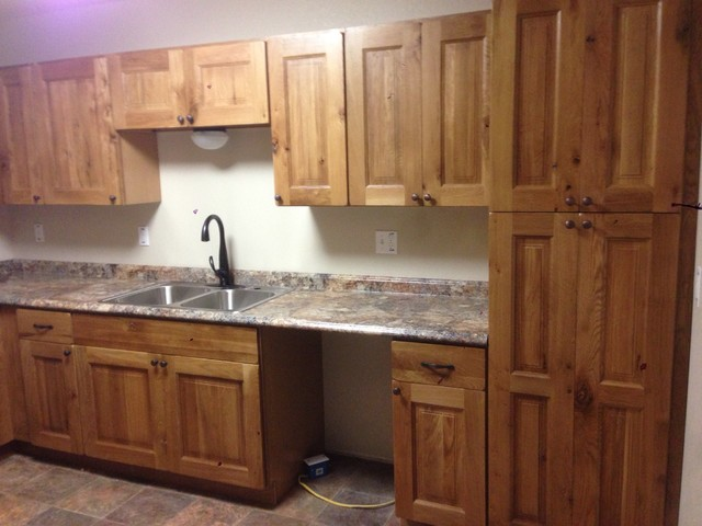 rustic knotty oak kitchen cabinets kitchen sinks for bathrooms home depot bathing decoration