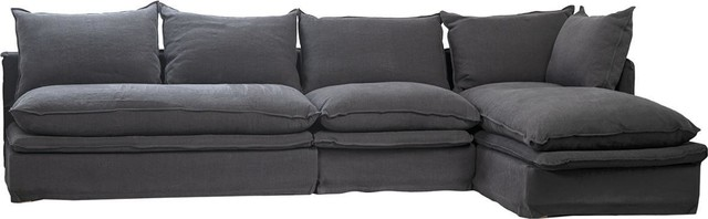 Sofa DOVETAIL LARISSA L-Shape New DT-