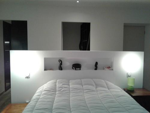 r novation suite parentale 25m2. Black Bedroom Furniture Sets. Home Design Ideas