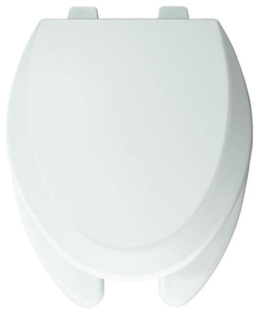 Bemis 1550PRO 000 Pro Series Wood Elongated Toilet Seat