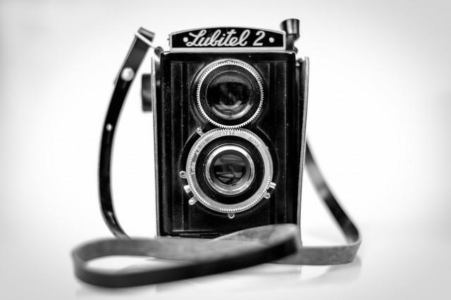 """Vintage Camera"" Photo Print, Art Poster, 40x30 cm"