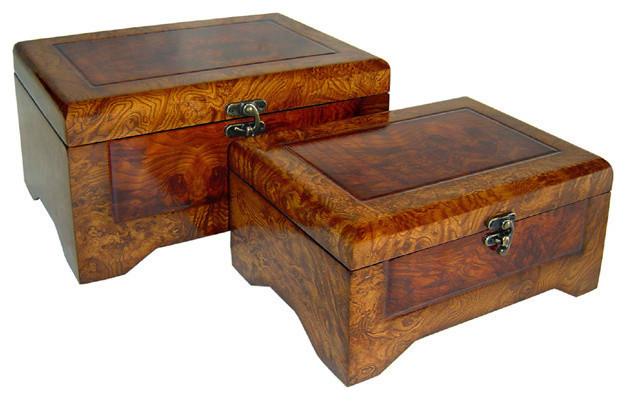 Decorative Nesting Boxes Storage : Salem Wooden Nesting Boxes Set Of  Traditional