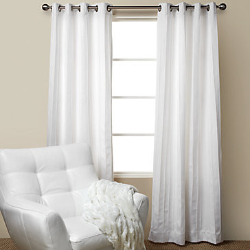 mitoni panels white modern curtains by z gallerie rh houzz com modern white blackout curtains modern white sheer curtains