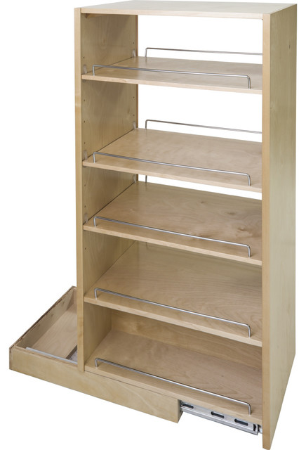 """Hardware Resources - Pantry Cabinet Pullout 11-1/2"""" x 22-1/4"""" x 45-1/2"""" - View in Your Room! 